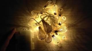 Viste da vicino: Luci di Natale DailyArt 20 decorazioni a Goccia