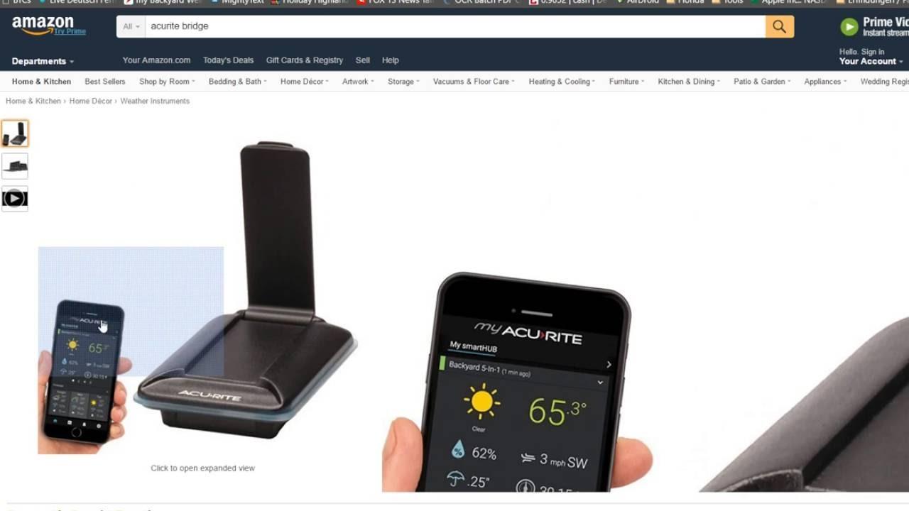 acurite bridge migration smarthub error device must be registered