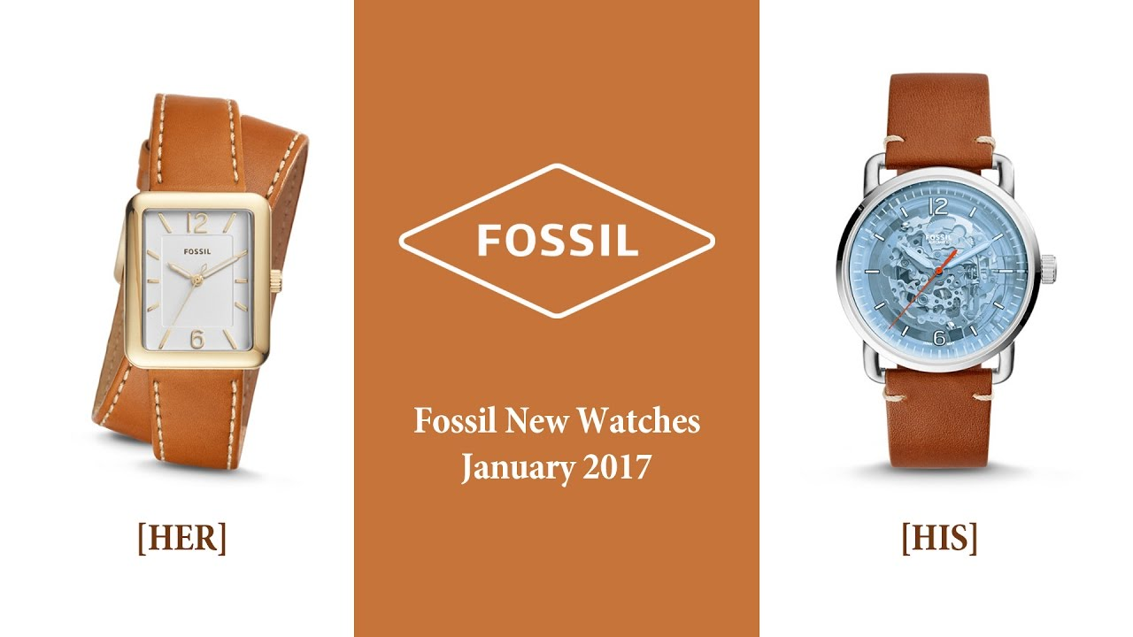 Fossil Jam Tangan Pria Leather Strap Fs4656 Brown Daftar Jacqueline Light Watch Es 4086 Terbaru Januari 2017 Atwater And Commuter New Watches January