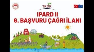 HİBE DESTEĞİ IPARD II 6. BAŞVURU ÇAĞRI İLANI - MersinHaber.com