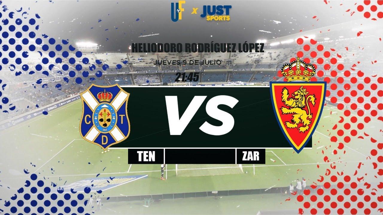 Tenerife vs Zaragoza (con imagen) EN DIRECTO