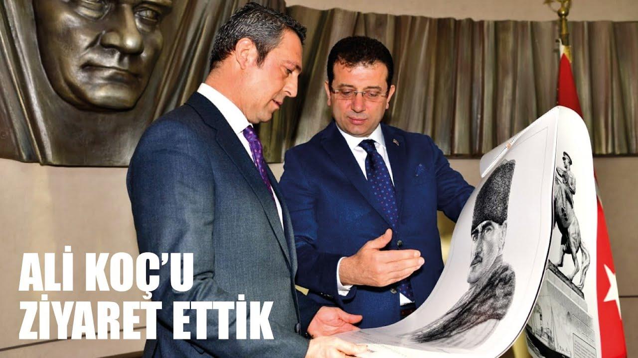 Fenerbahçe Spor Kulübü Başkanı Ali Koç'u Ziyaret Ettik