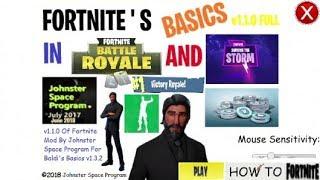 Fortnite's Basics Mod [Secret Ending]
