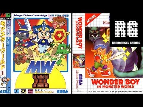 Wonder Boy in Monster World - Mega Drive & Master System Comparison