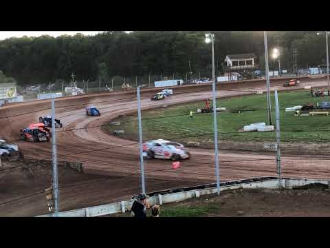sharon speedway rush modified feature 6.22.19