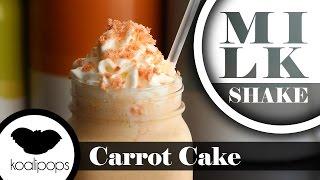 Carrot Cake Milksake |  Milkshake Mondays
