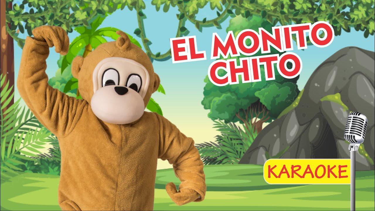 EL MONITO CHITO - KARAOKE (Video Oficial) - Payaso Chispita