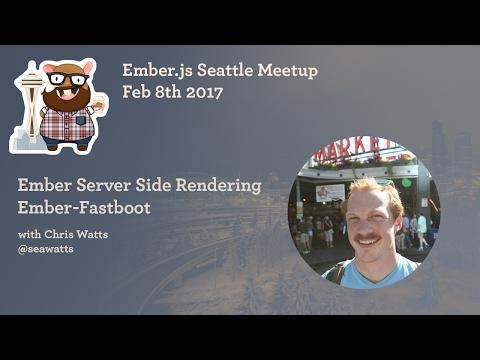 EmberJS Server Side Render (SSR) ember-fastboot