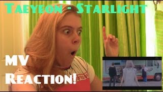 Taeyeon/태연 - Starlight feat. Dean MV Reaction - Hannah May