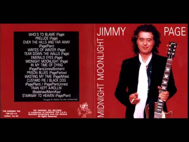 Jimmy Page - Midnight Moonlight - Full Album Live ( 1988 ) Bootleg - YouTube
