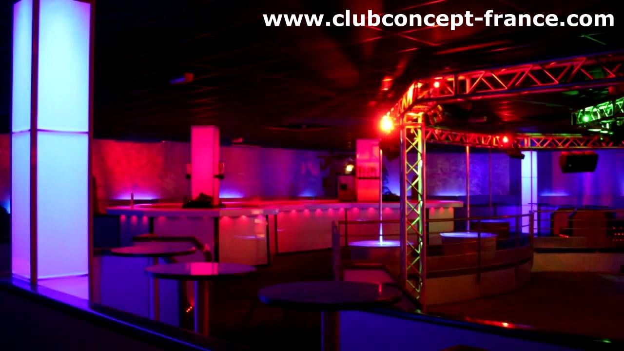 DECORATION DISCOTHEQUE Relookage complet Club Concept