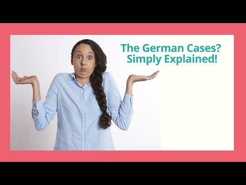 Live Class: How to Understand the German Cases