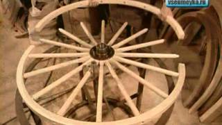 как сделать колесо для телеги своими руками