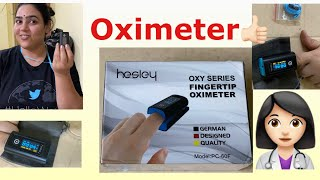 Hesley pulse oximeter Review and Demo👍🏻|| COVID time mai sabse useful item ||Utility of Oximeter