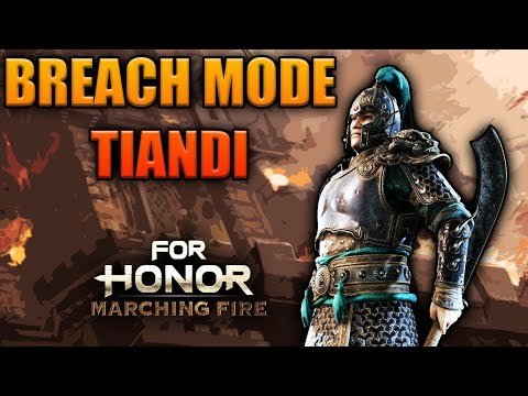 [For Honor] NEW Breach Gameplay as TIANDI w/ Zer0_craic - 40 eliminations
