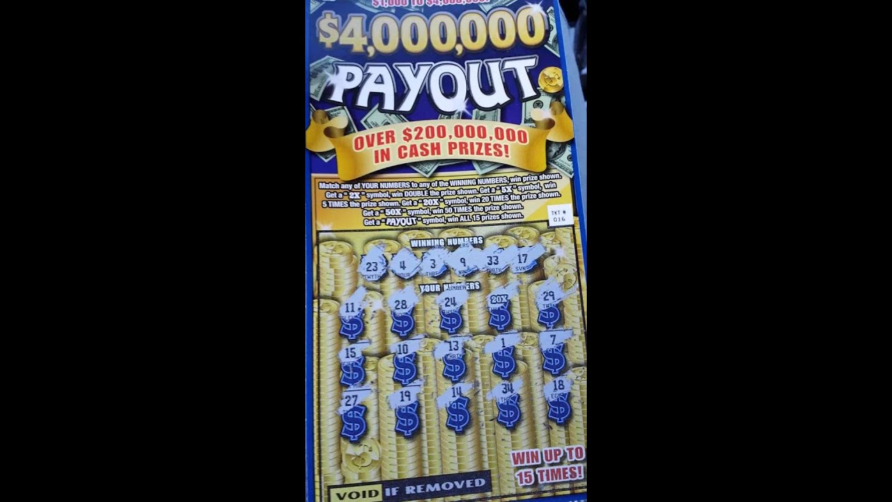 nice win massachusetts lottery 10 scratch off ticket 4 000 000 payout youtube. Black Bedroom Furniture Sets. Home Design Ideas
