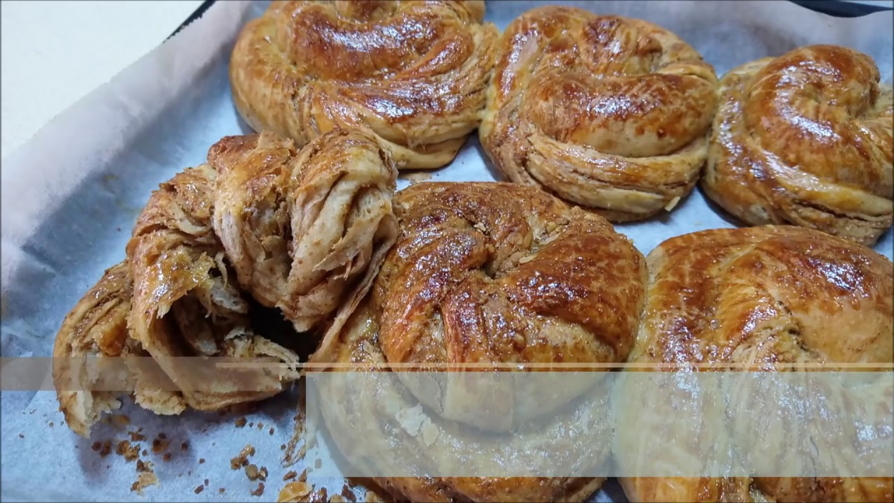 Haşhaşlı Cevizli Burma Çörek Tarifi