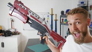 Real Life Fortnite Tactical Shotgun Build // 3D printed