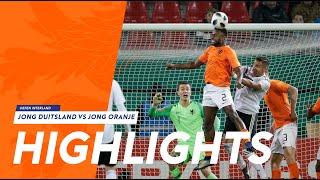 Samenvatting Jong Duitsland - Jong Oranje (16/11/2018)