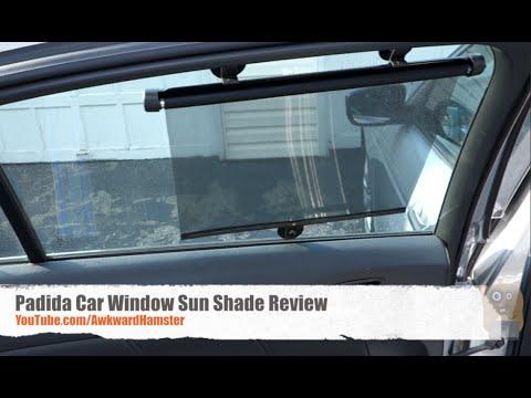 car window sun shade Padida Car Window Sun Shade Review   YouTube car window sun shade