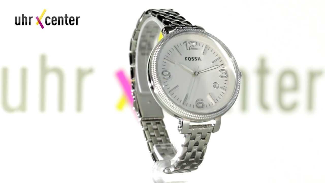 Fossil Armbanduhr Damen Holz ~ Fossil ES3129 Heather Damen Armbanduhr  YouTube