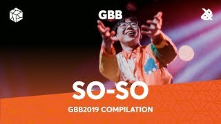 SO-SO | Grand Beatbox Battle Loopstation 2019 Compilation