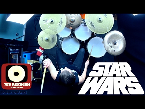 Star Wars: A New Hope Medley | Drum Cover [DonutDrums]