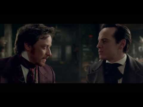 Exclusive: Andrew Scott interrogates James McAvoy in Victor Frankenstein