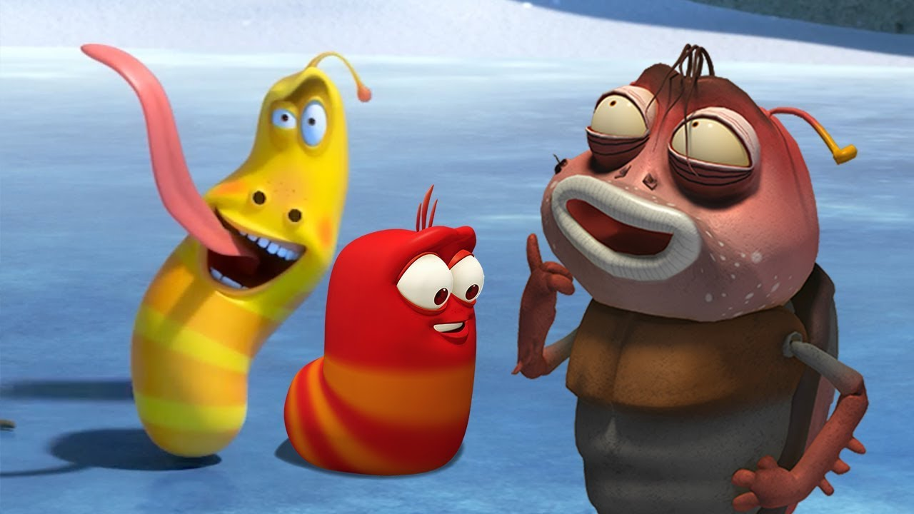 LARVA - BUGS ON ICE- CHRISTMAS SPECIAL | Cartoons For Children | LARVA Official