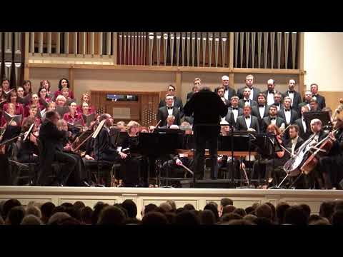 Beethoven Fantasy for piano, choir and orchestra Andrei Korobeinikov / Alexander Vedernikov