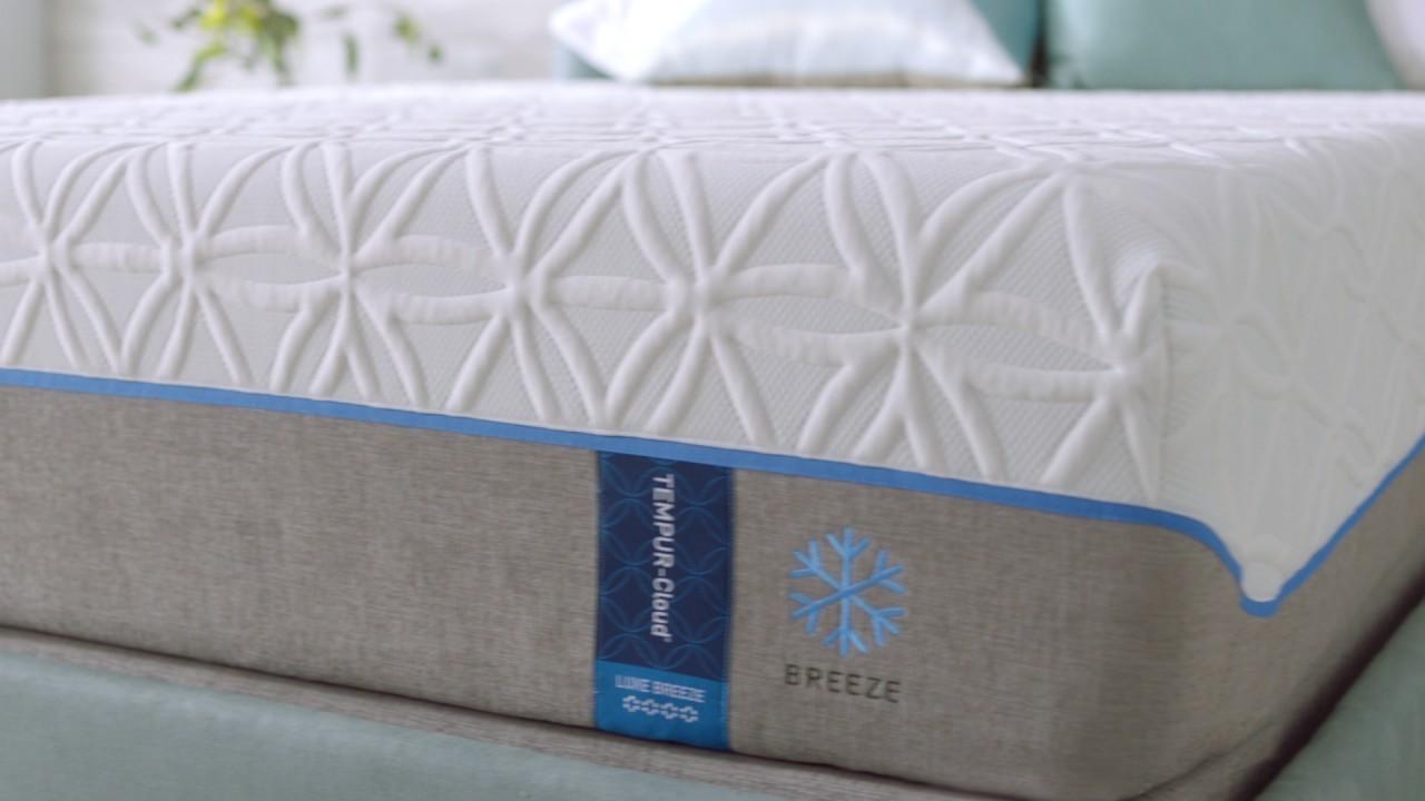 tempurpedic cloud luxe breeze bed roll - Tempurpedic Cloud