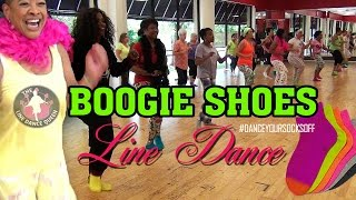 Boogie Shoes Line Dance-The Line Dance Queen & Friends