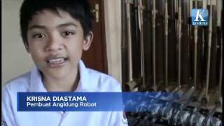 Video iProud - Klungbot: Angklung Robot Anak Indonesia.mp4 download MP3, 3GP, MP4, WEBM, AVI, FLV Agustus 2018