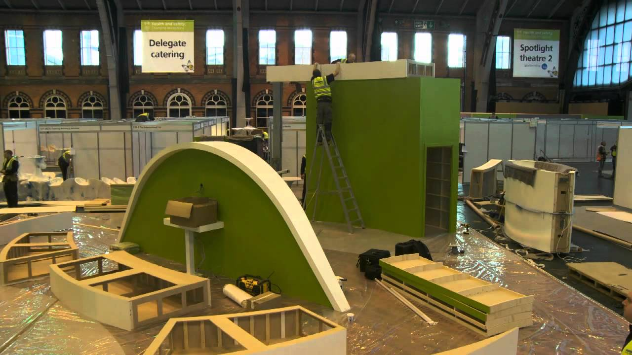 Exhibition Stand Setup : How to build a 150sqm exhibition stand in under 15 hours youtube
