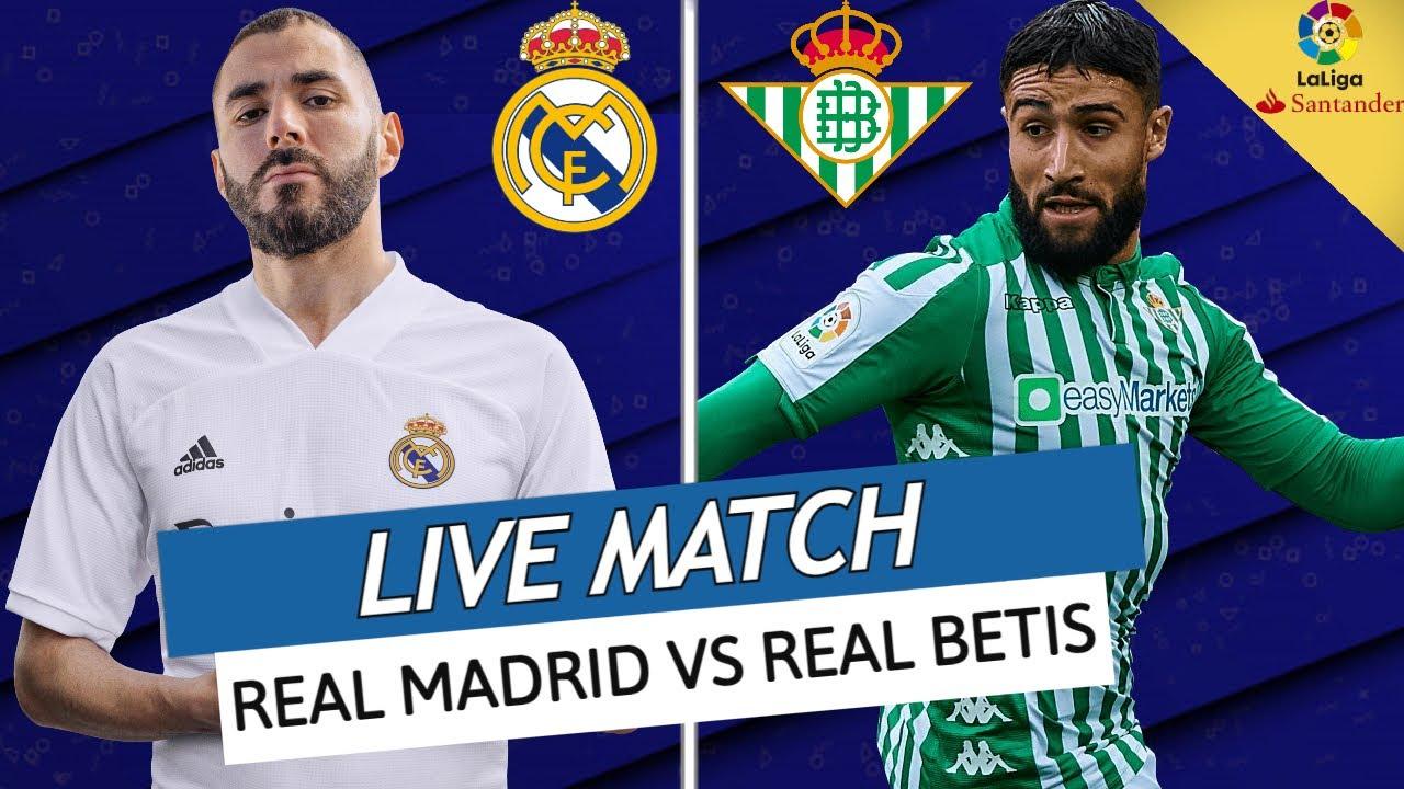 🔴🔵🇩🇿[ DIRECT / LIVE ] REAL MADRID - BETIS // 🇩🇿 BENZEMA VS FEKIR //  LE TITRE DEJA PERDU?// LIGA - YouTube