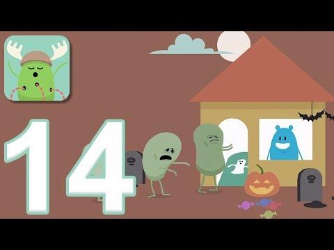 Dumb Ways to Die - Gameplay Walkthrough Part 14 - 3 New Halloween Games (iOS, Android)