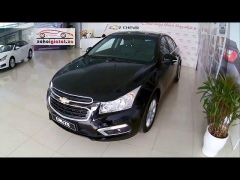 Đánh giá xe Chevrolet Cruze LT 1.6 MT số sàn 2017 mới tại Việt Nam
