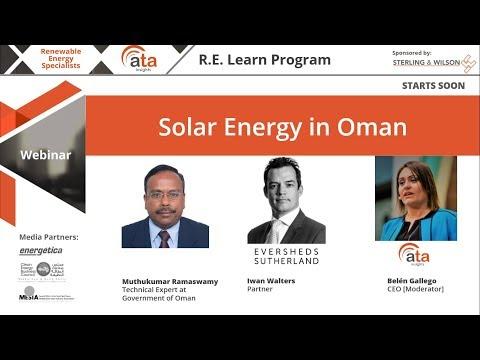 Solar energy in Oman