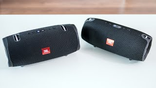 JBL Xtreme 2 vs JBL Xtreme - indoor soundcheck (which one sounds better?)