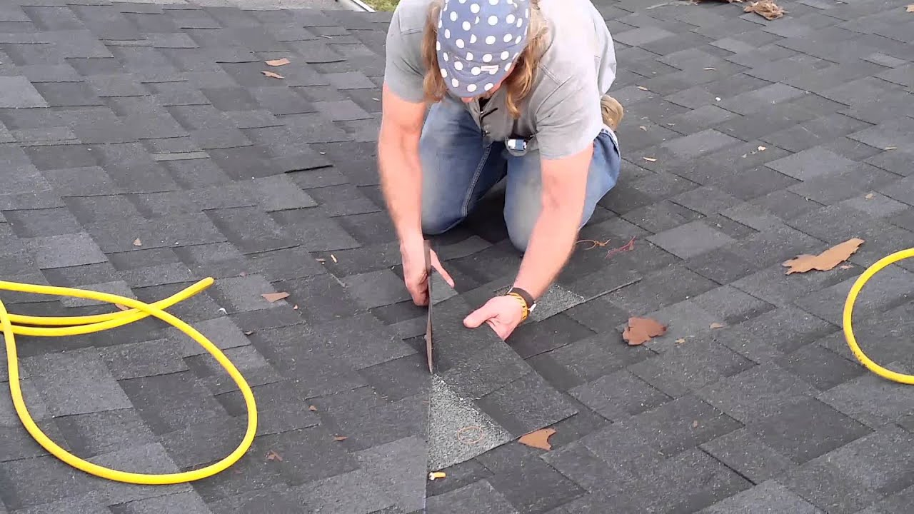 How To Cut Shingles In A Valley Youtube