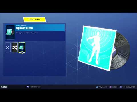 FORTNITE SQUEAKY CLEAN (FLOSS REMIX 1 HOUR)