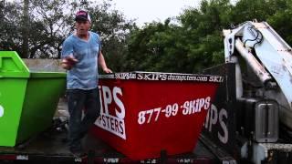 Skips Dumpsters: 3 Yard Dumpster Rental