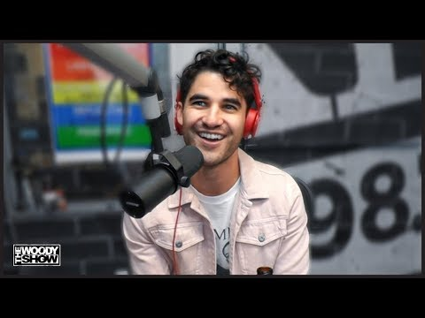 The Woody Show - Darren Criss in studio with The Woody Show