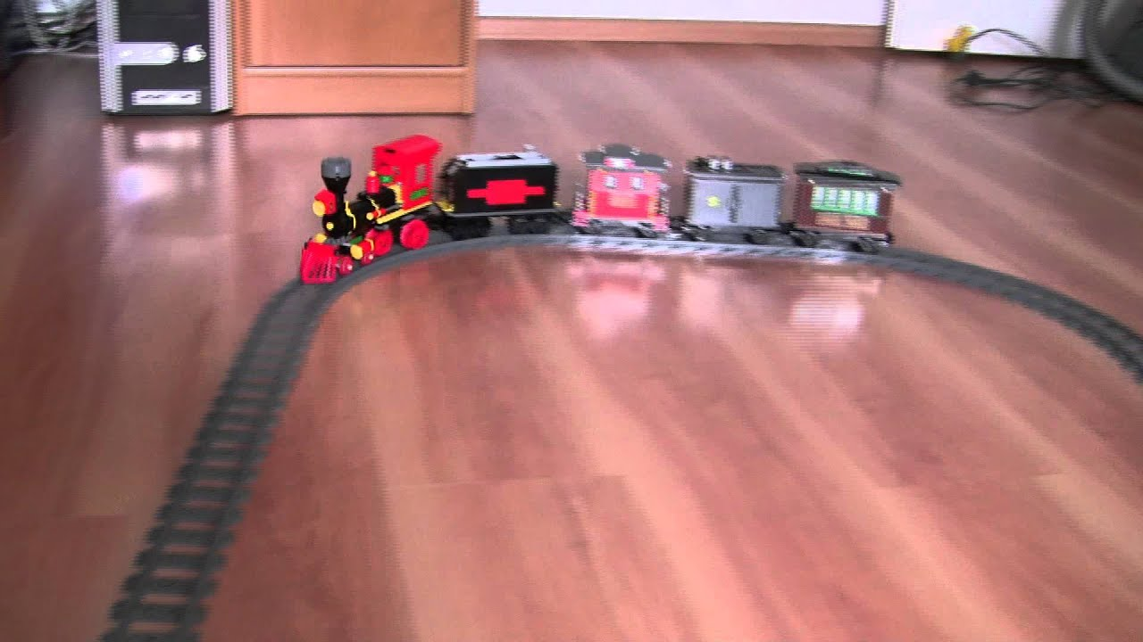 New Toy Story 3 Train : Crash lego toy story train motorized with pf using