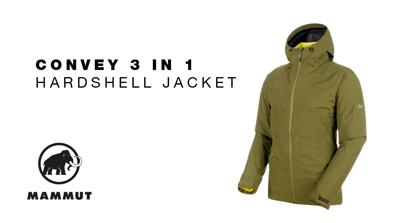 pretty cool new high quality low priced Mammut Convey 3 in 1 Hardshell Jacket