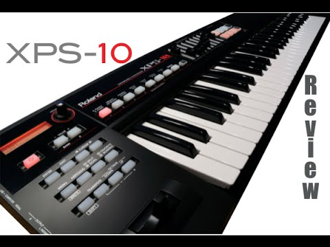 Review do Roland XPS 10 (demo)