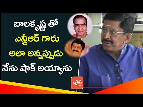 Actor & TDP MP Murali Mohan Says About Sr NTR's Determination   Balakrishna   YOYO TV Channel