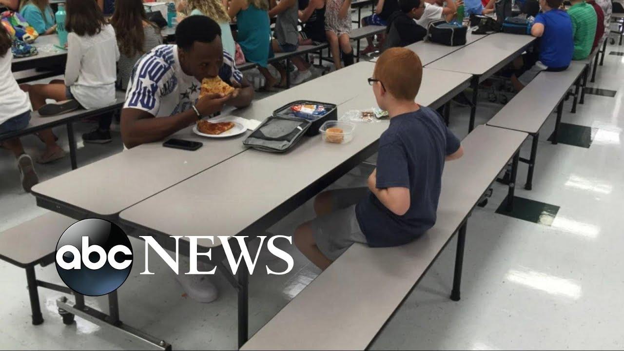 Download FSU Star Travis Rudolph Helps Boy With Autism