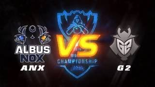 03102016 highlights anx vs g2 vong bang cktg2016