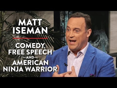 An American Ninja Warrior For Free Speech | Matt Iseman | LIFESTYLE | Rubin Report